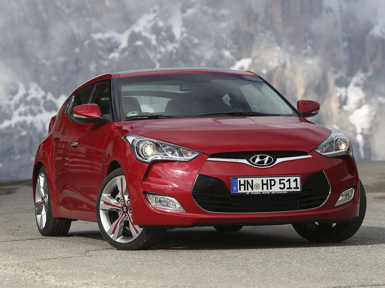 Bild zu Geringster Wertverlust in Euro bei den Sportwagen: Hyundai Veloster 1.6