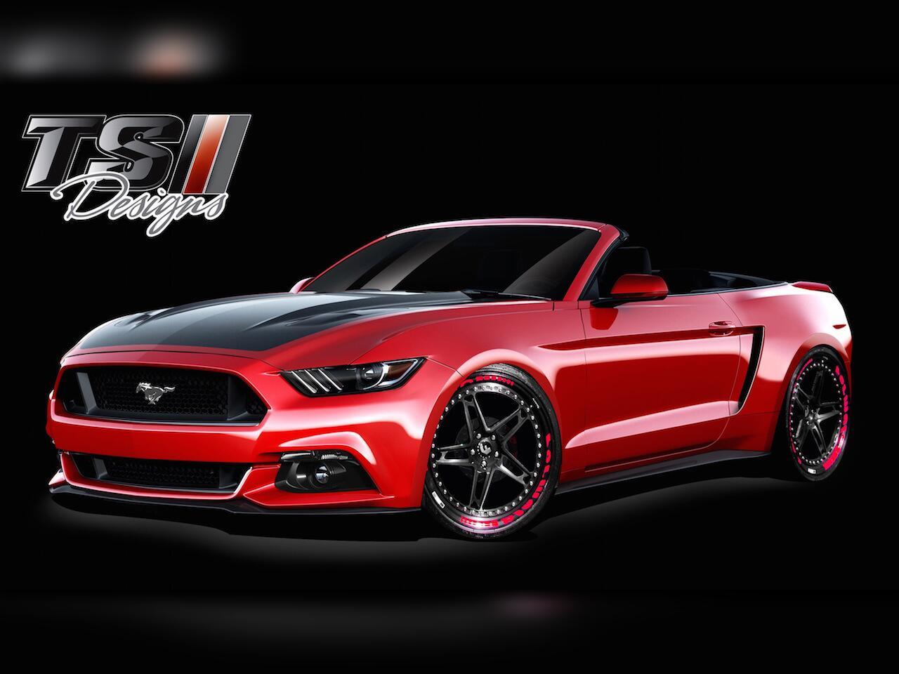 Bild zu Buntes von Ford: Acht radikale Ford Mustang-Tuningkonzepte für die SEMA 2015