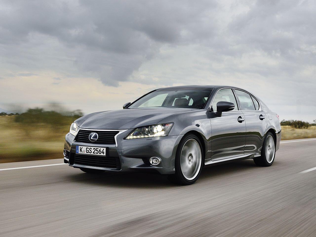 Bild zu Geringster Wertverlust in Euro bei den Oberklasse-Pkw: Lexus GS 300h
