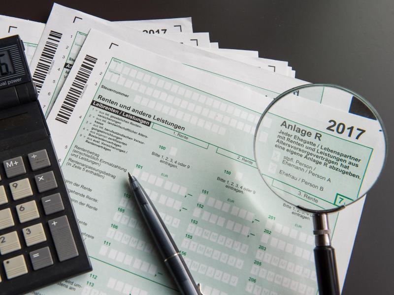 Bild zu Steuererklärung von Rentnern