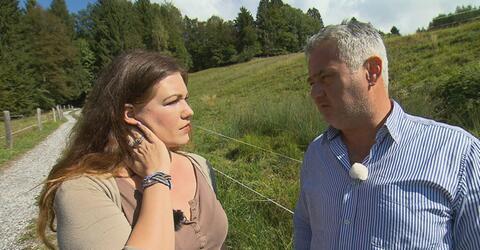Dietmar spricht sich mit Eva aus.