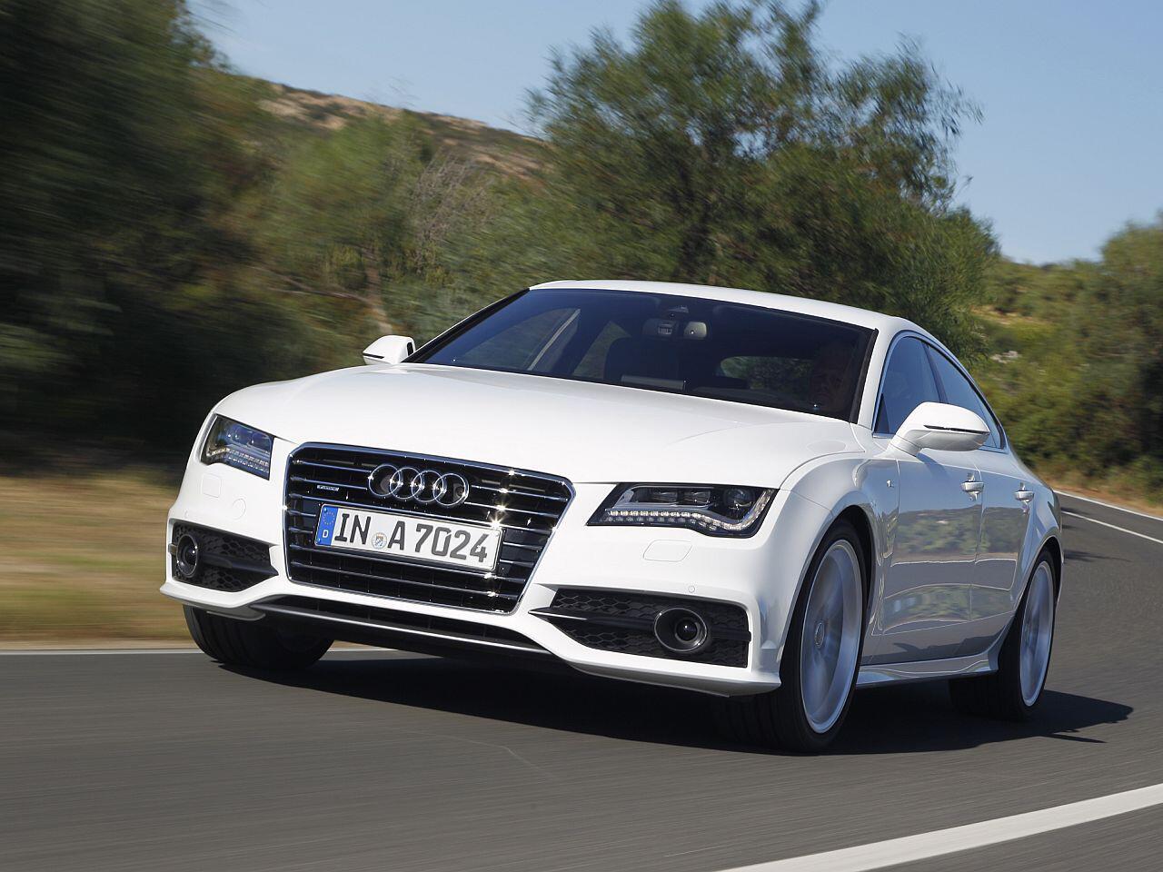 Bild zu Geringster Wertverlust in Euro bei den Luxusklasse-Pkw: Audi A7 3.0 TDI
