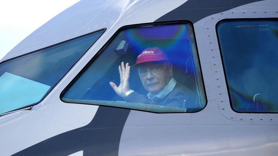 Fluglinie Niki - Niki Lauda