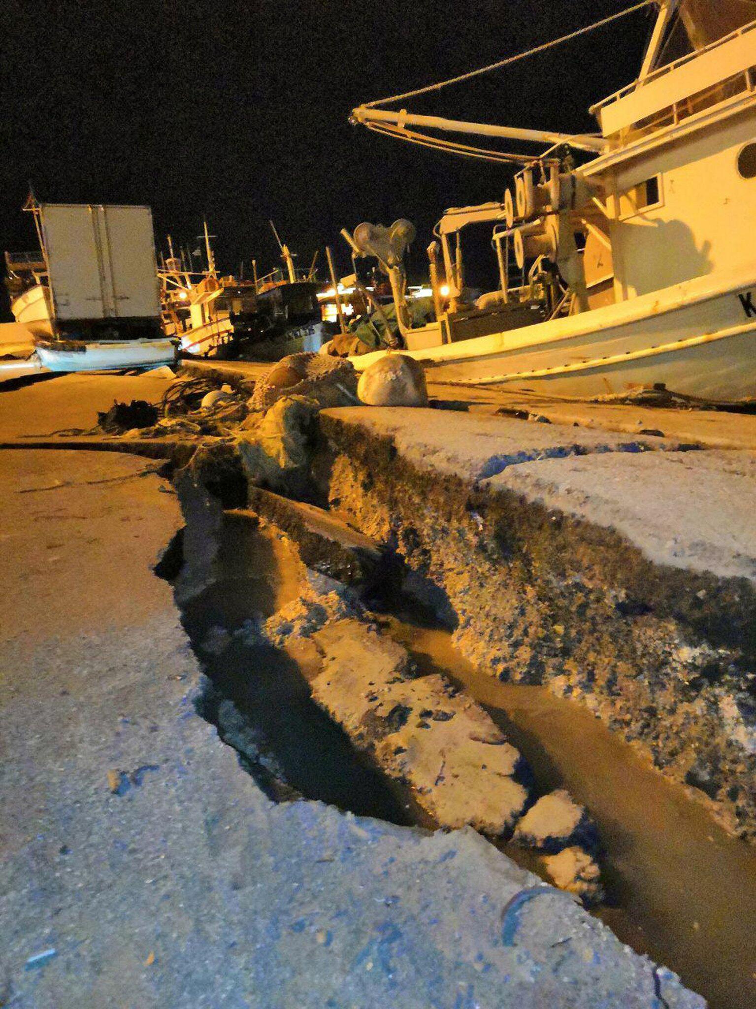 Bild zu Starkes Seebeben erschüttert Griechenland