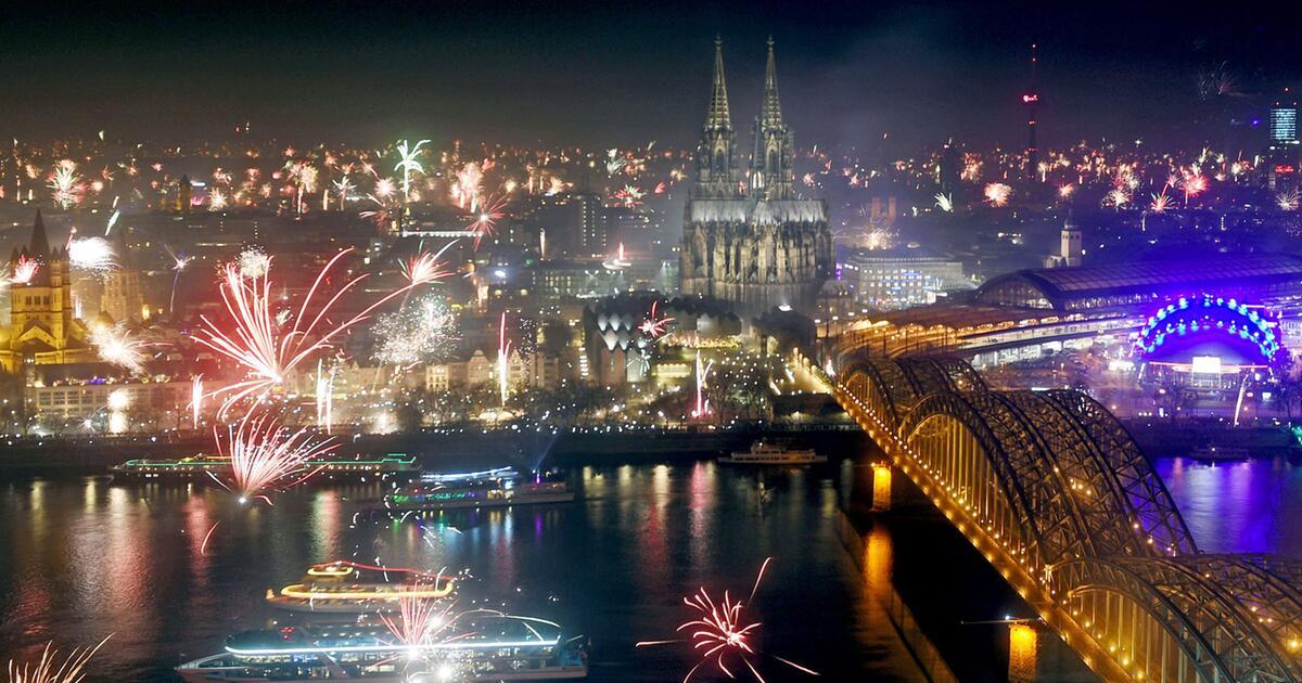 Silvester Feuerwerk Köln