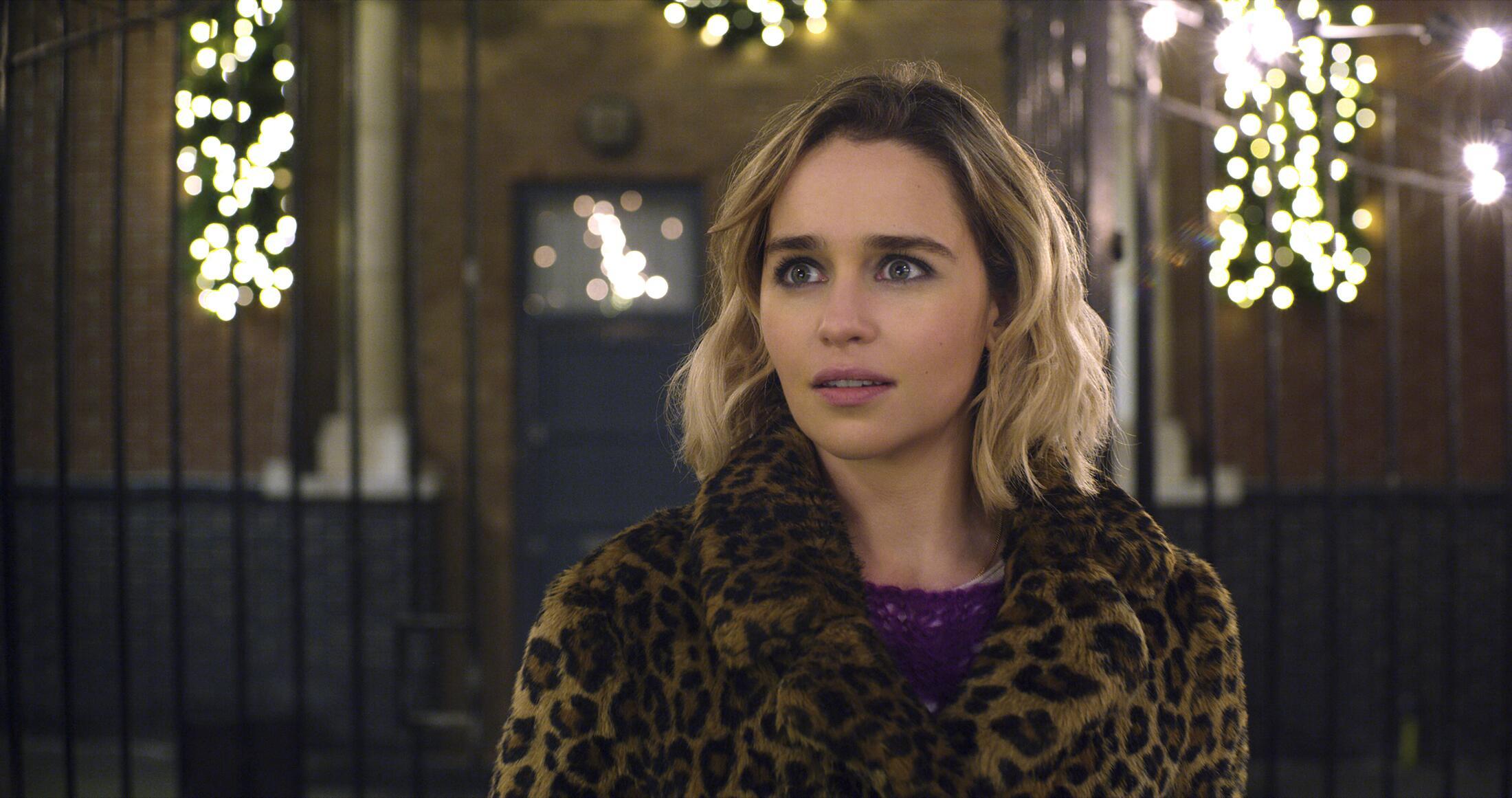 "Bild zu Emilia Clarke in ihrem neuen Film ""Last Christmas""."