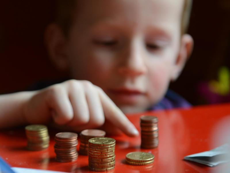 Bild zu Taschengeld