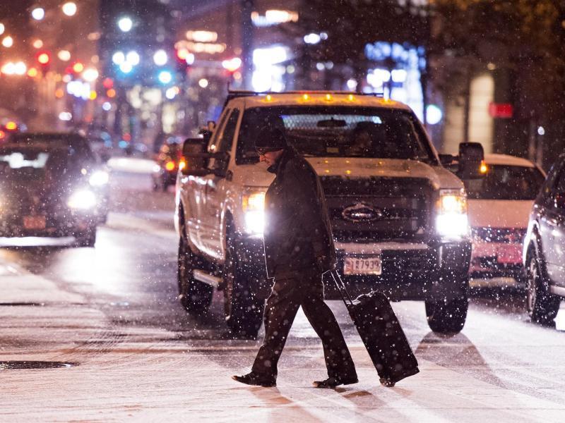 Bild zu Schnee in Washington