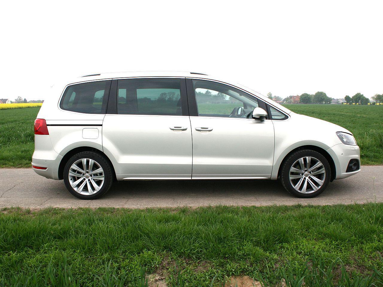 Bild zu Geringster Wertverlust in Euro bei den Vans: Seat Alhambra 1.4 TSI