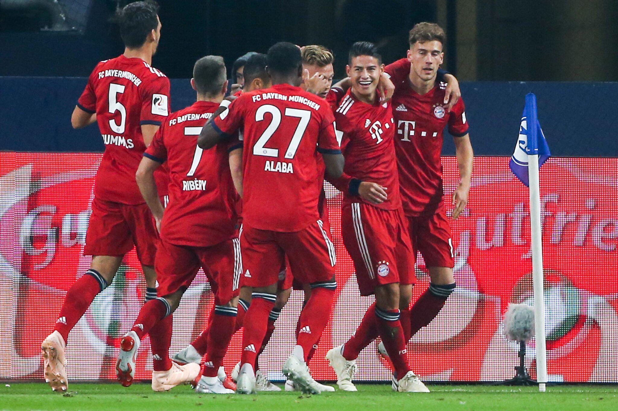 Bild zu FC Schalke 04 - Bayern München