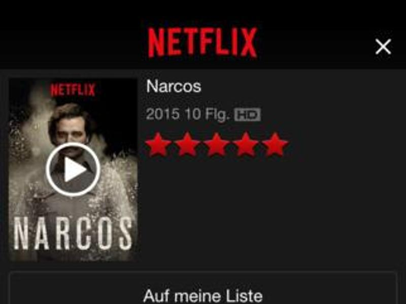 Bild zu Netflix für iOS-Geräte