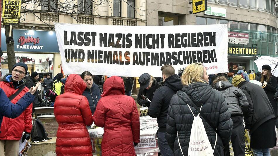 Protest in Wien gegen rechtskonservative Regierung