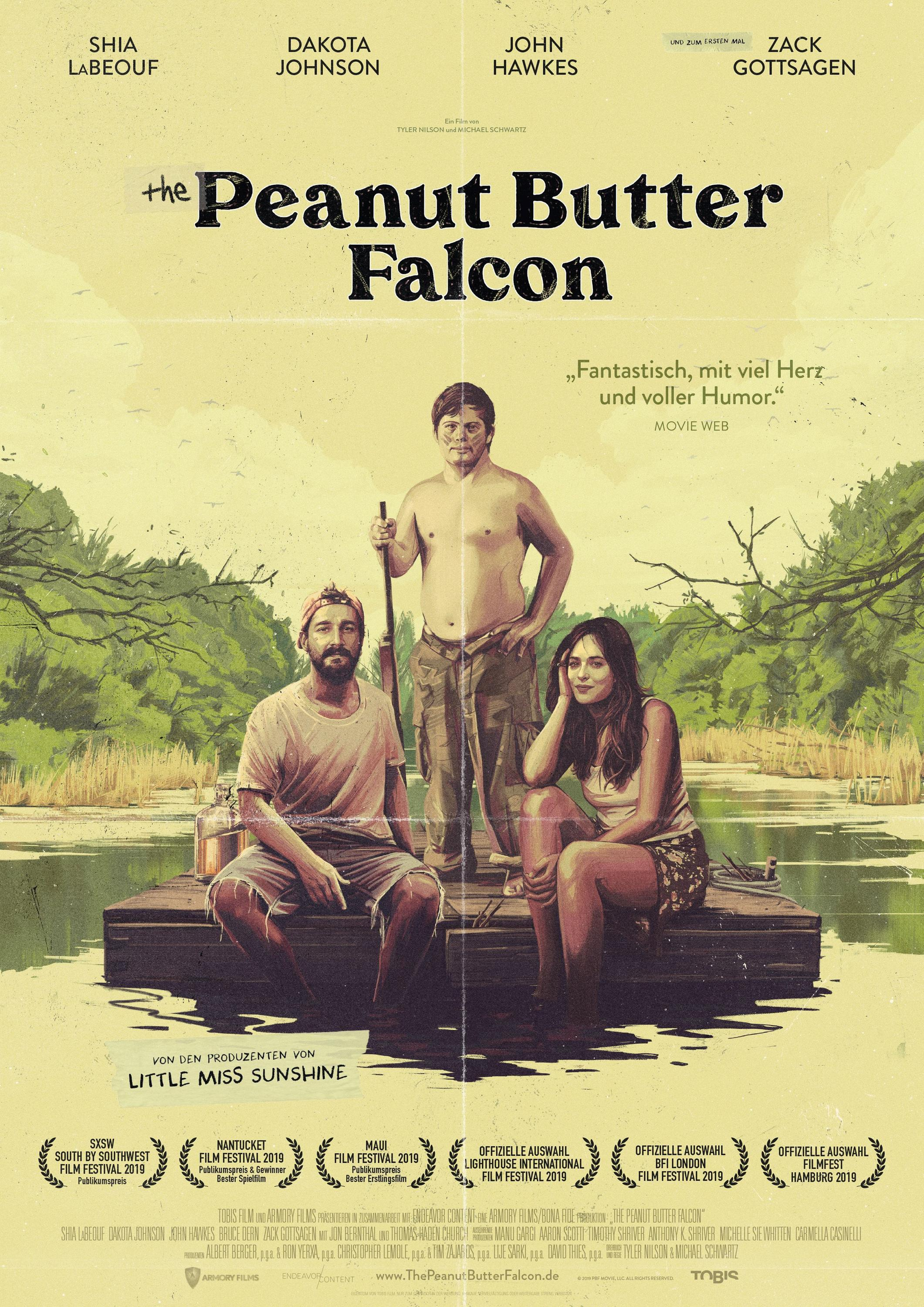 Bild zu The Peanut Butter Falcon Filmplakat