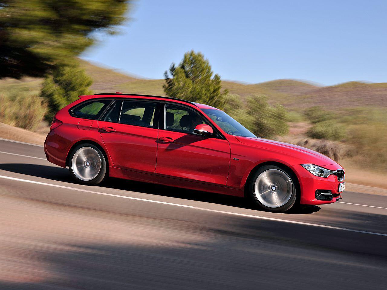 Bild zu Bester Werterhalt in Prozent bei den Mittelklasse-Pkw: BMW 325d Touring