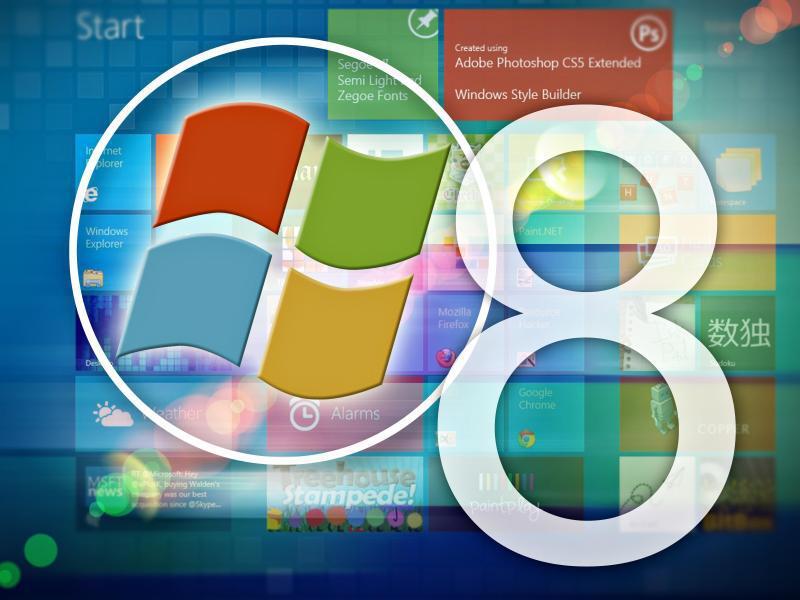 Bild zu Windows 8