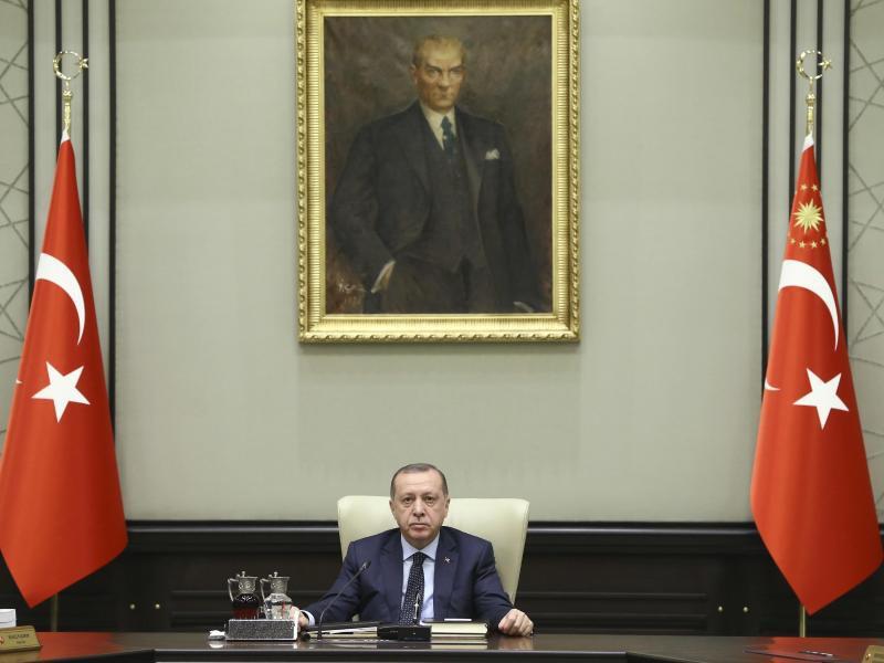 Bild zu Ankündigung von Erdogan