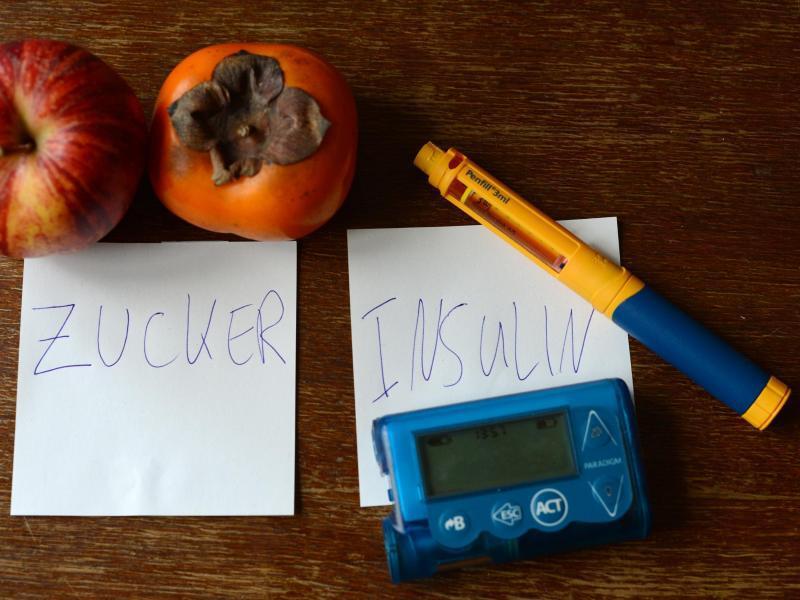 Bild zu Insulinspritze eines Schülers
