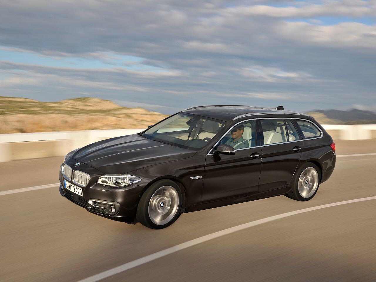 Bild zu Bester Werterhalt in Prozent bei den Oberklasse-Pkw: BMW 530d Touring