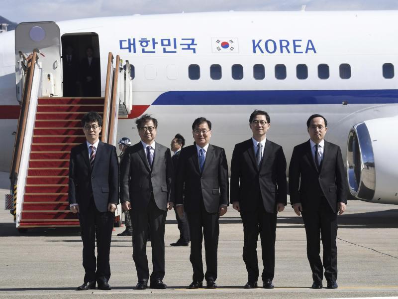 Bild zu Südkoreanische Sondergesandte