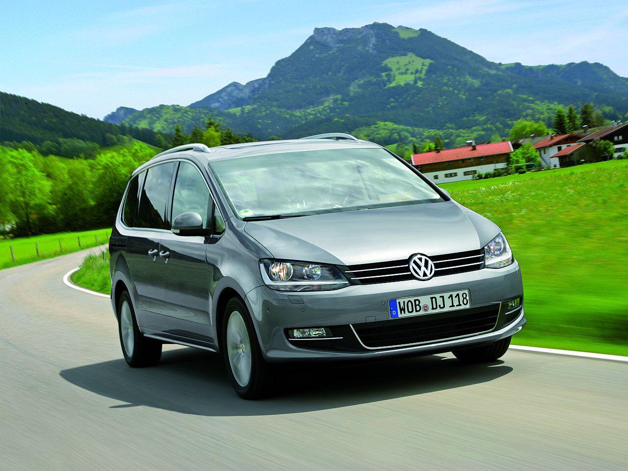 Bild zu Bester Werterhalt in Prozent bei den Vans: VW Sharan 2.0 TDI