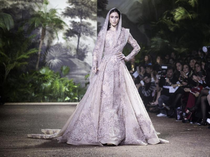Bild zu Paris Fashion Week - Elie Saab
