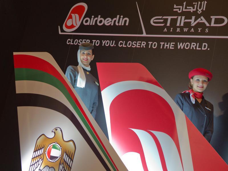 Bild zu Air Berlin und Etihad