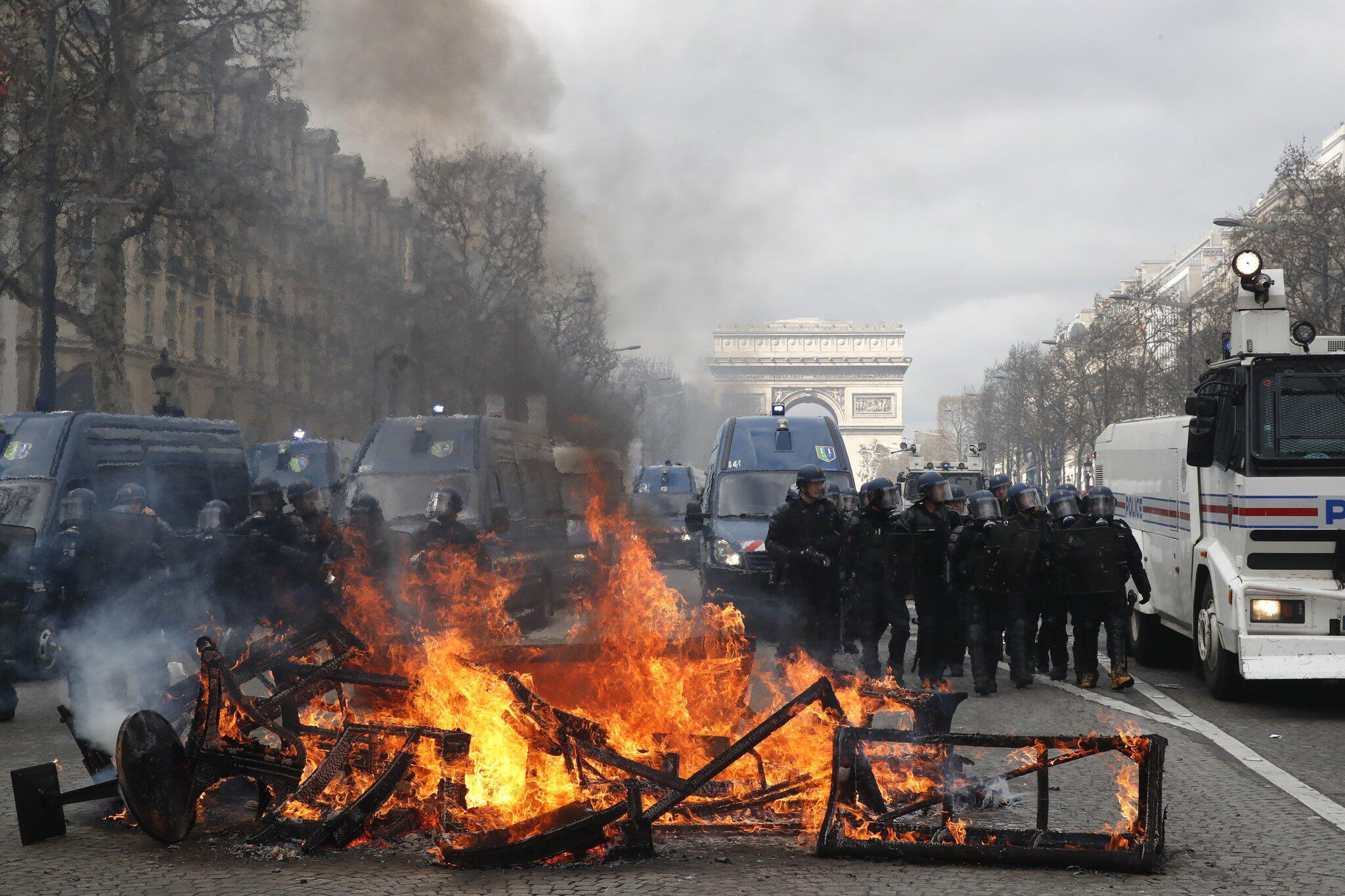"""Bild zu """"Gelbwesten»-Proteste"""