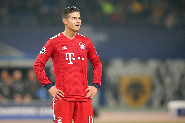 Bild zu FC Bayern, München, James, Bundesliga, Fußball