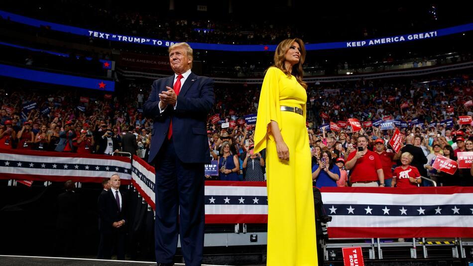Wo ist die First Lady im Wahlkampf?