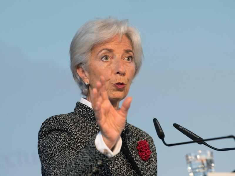Bild zu IWF-Chefin Lagarde