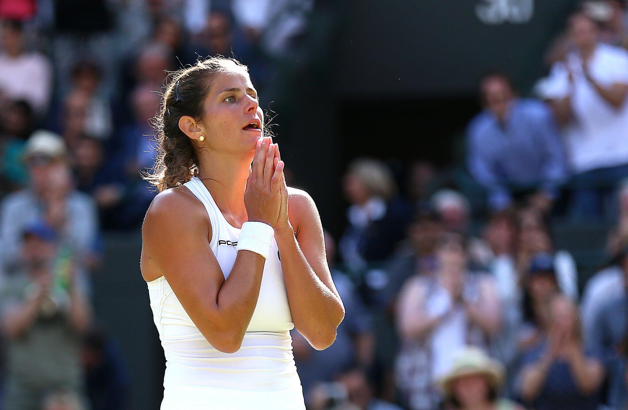 Bild zu Wimbledon, Julia Görges, Viertelfinale, Kiki Bertens