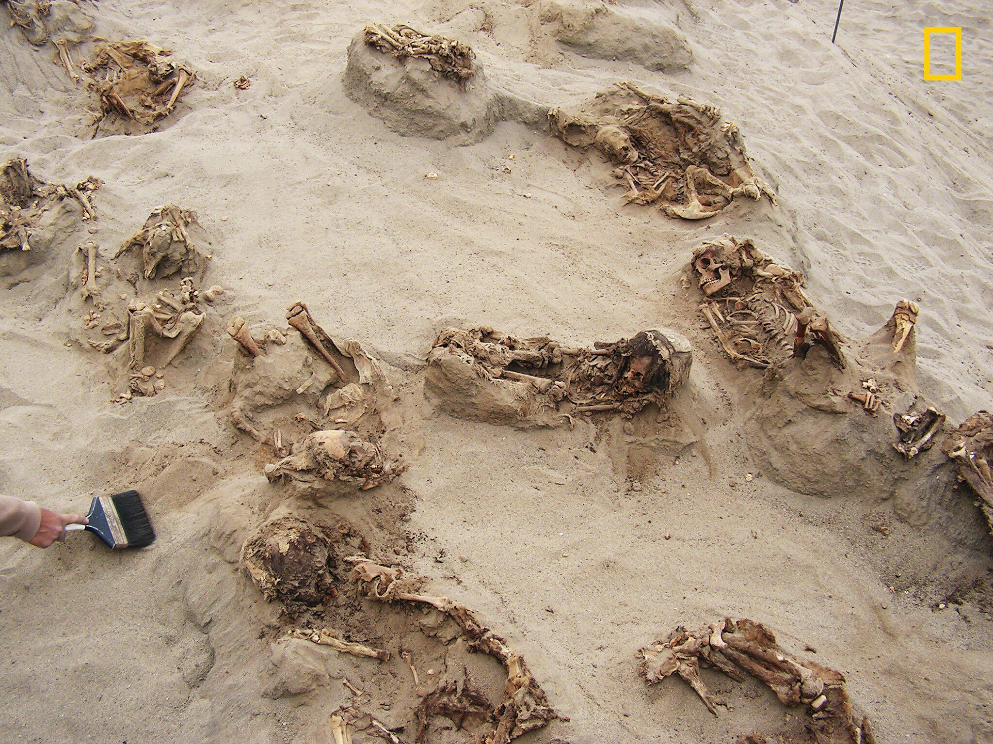 Bild zu Entdeckung eines alten Massengrabes in Peru