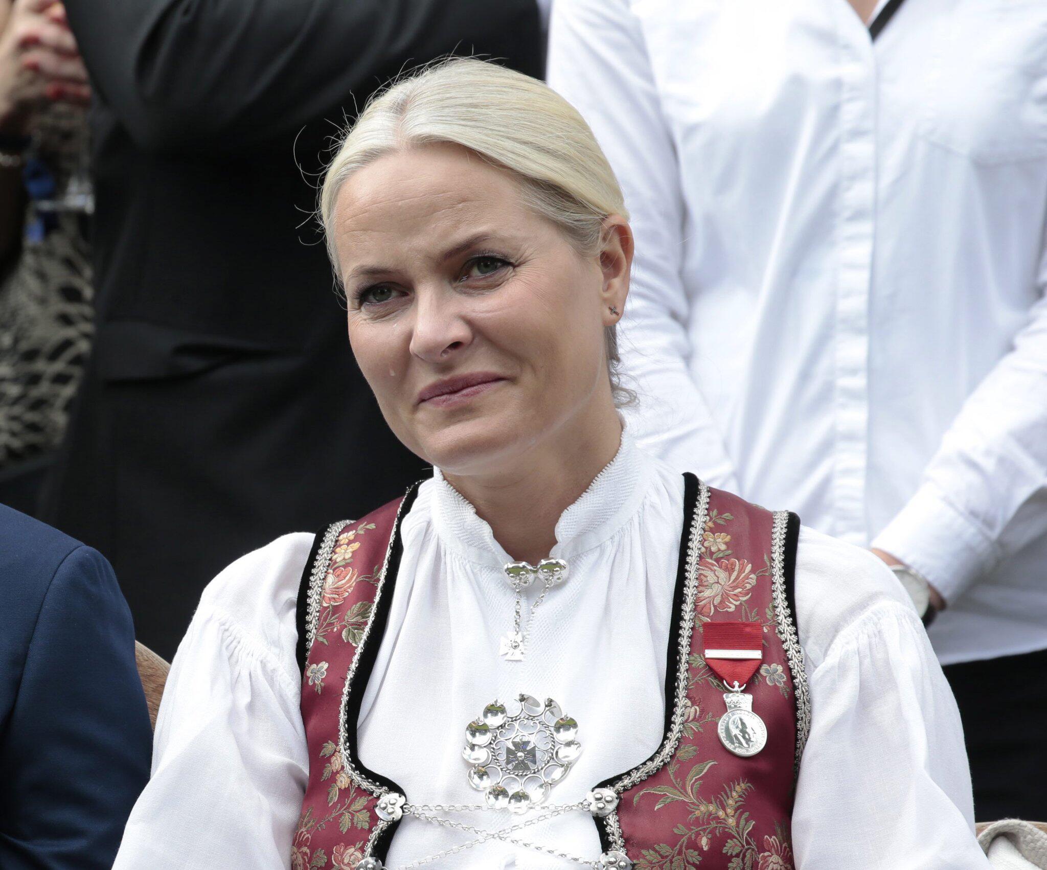 Bild zu Norwegens Kronprinzessin Mette-Marit