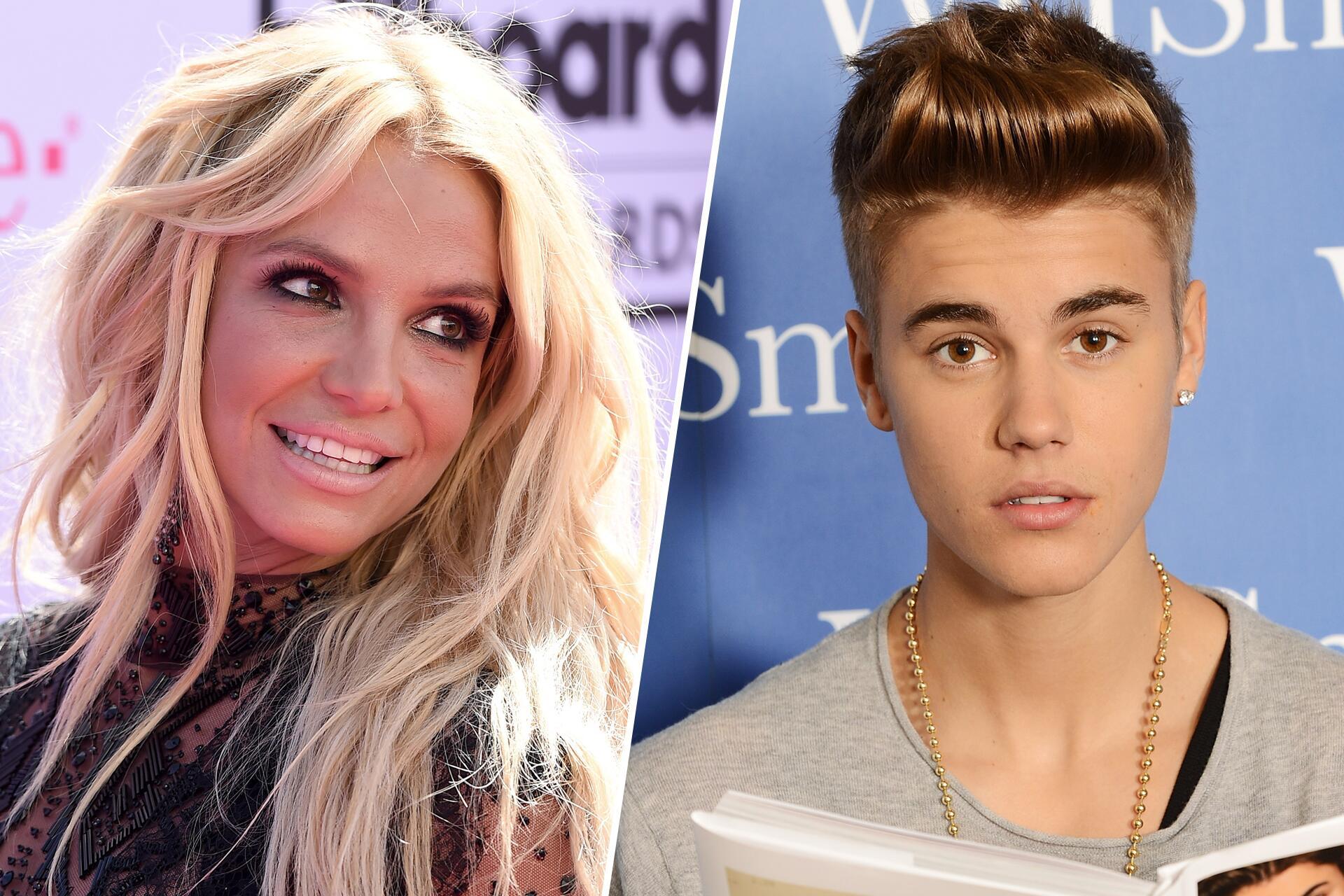 Bild zu Britney Spears, Justin Bieber