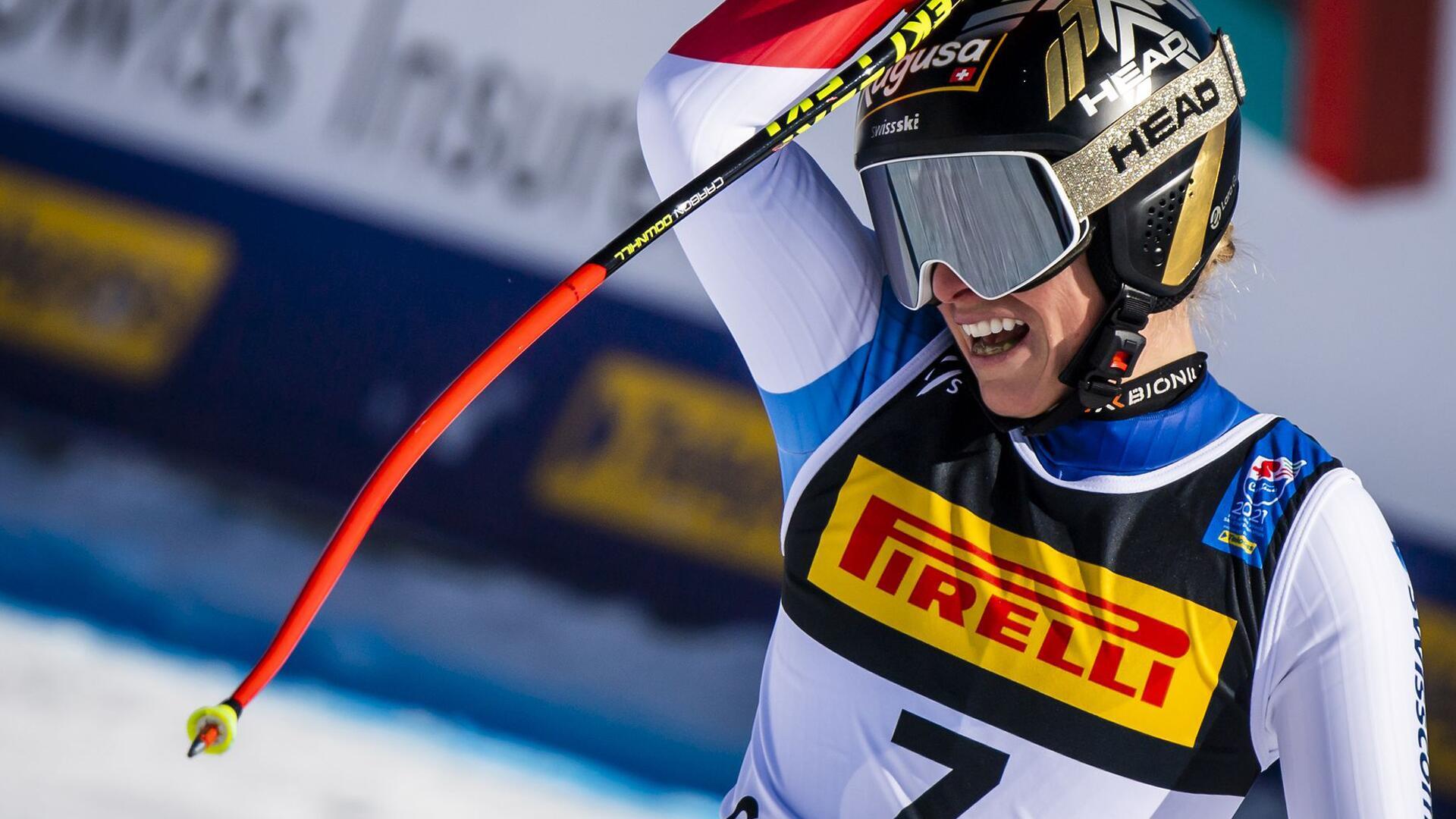Bild zu Ski alpin: Weltmeisterschaft in Cortina d'Ampezzo