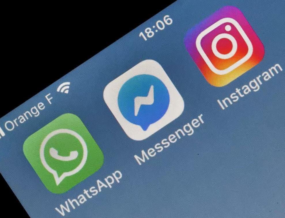 Bild zu Whatsapp, Facebook Messenger, Instagram, Smartphone