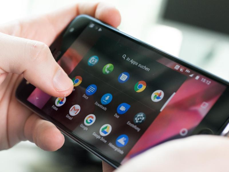 Bild zu Smartphone und Apps