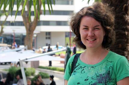 Gaststudentin in Südafrika