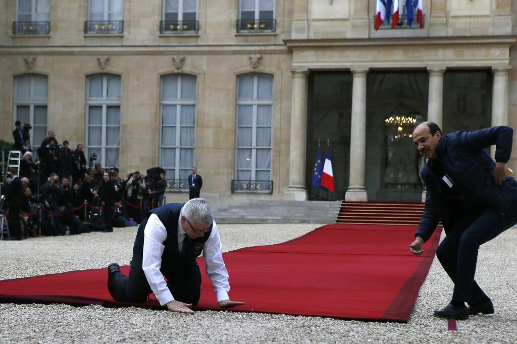 Amtseinführung des neuen französischen Präsidenten Macron