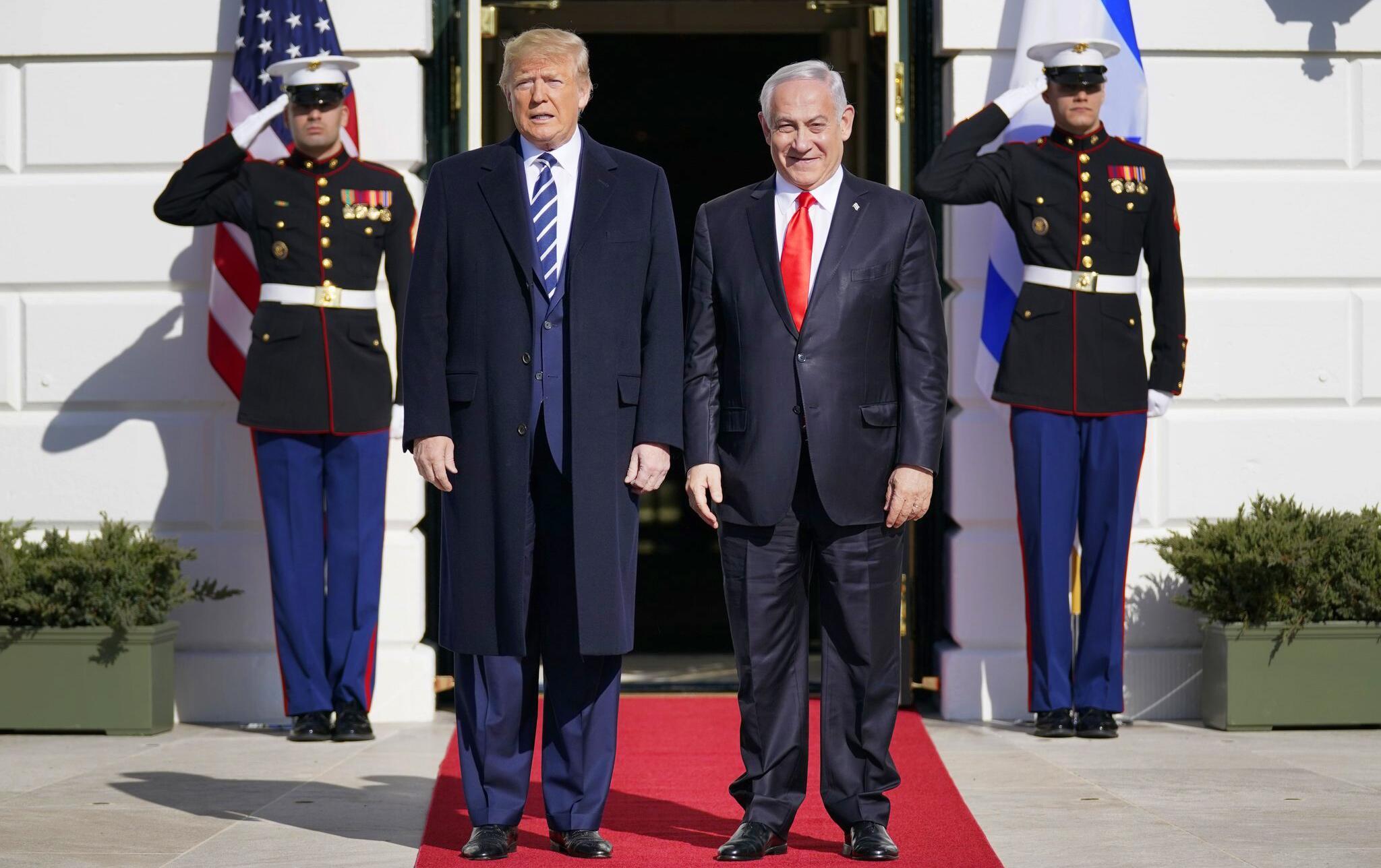 Bild zu Nahost-Plan von Trump