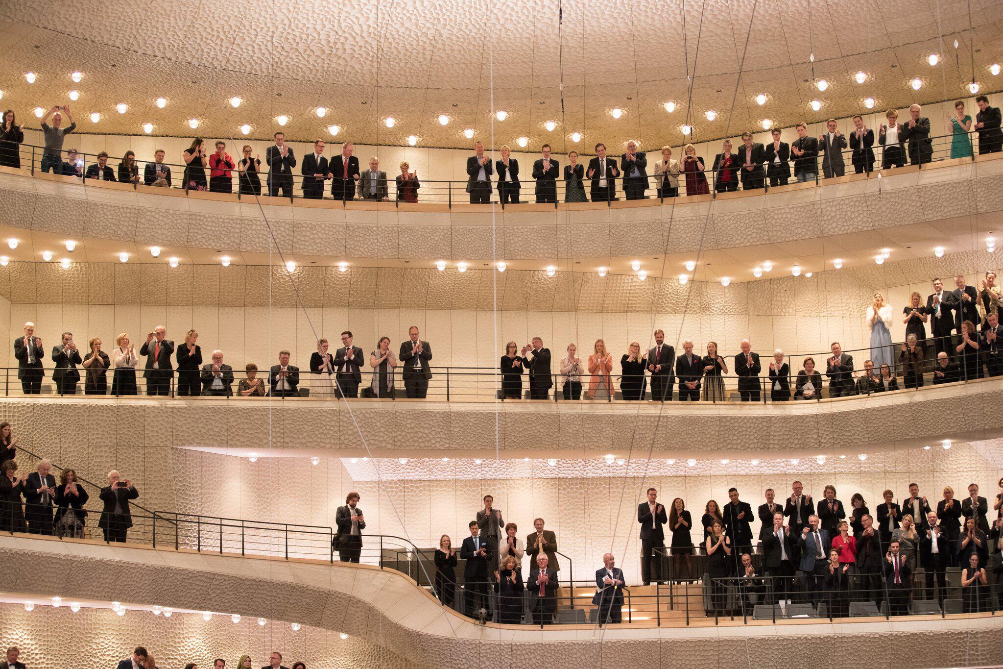 Bild zu Eröffnung der Elbphilharmonie