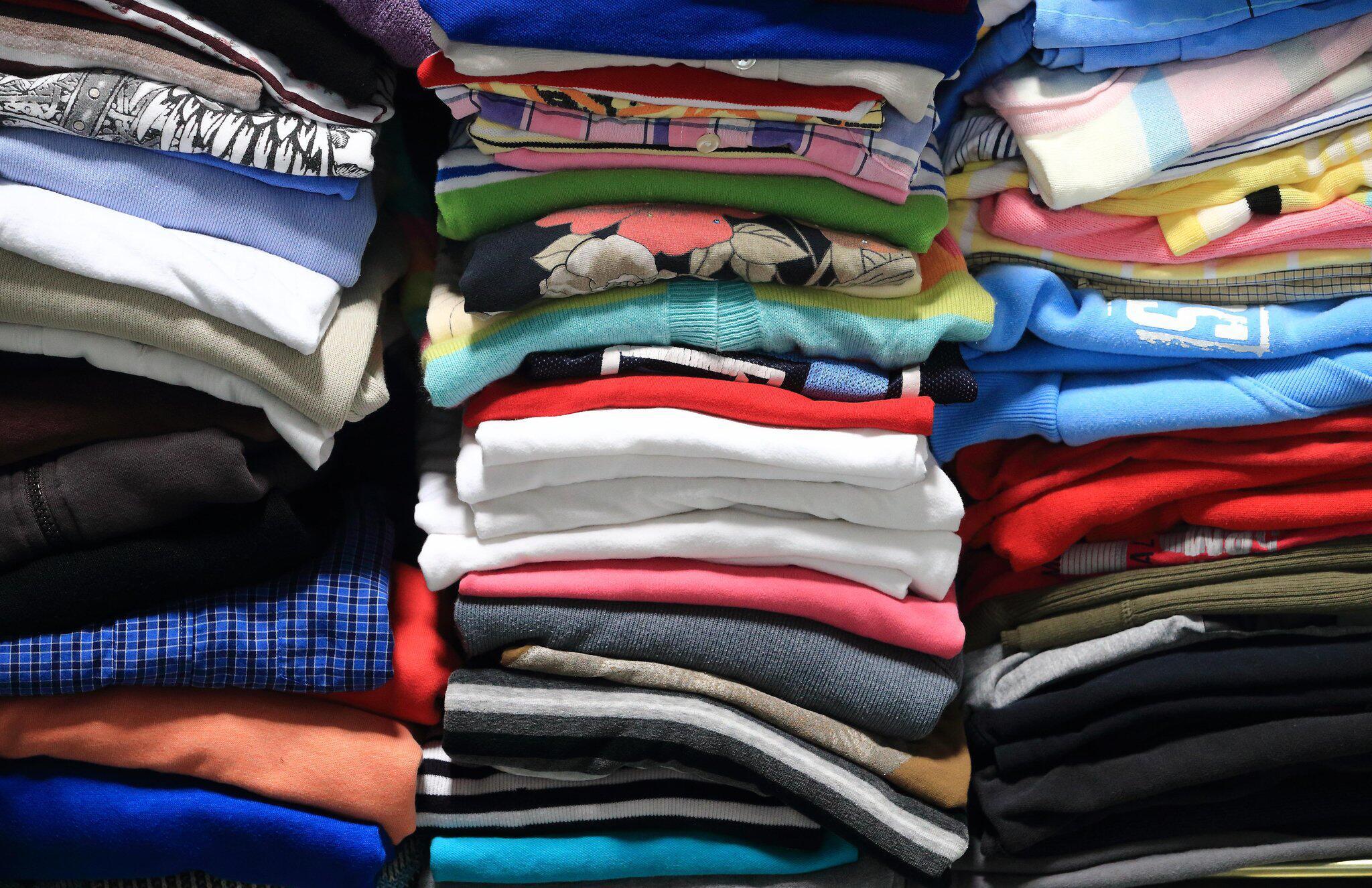 Bild zu Wäschestapel