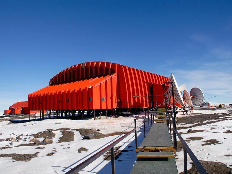 Bild zu Antarktis-Stützpunkt Marambio