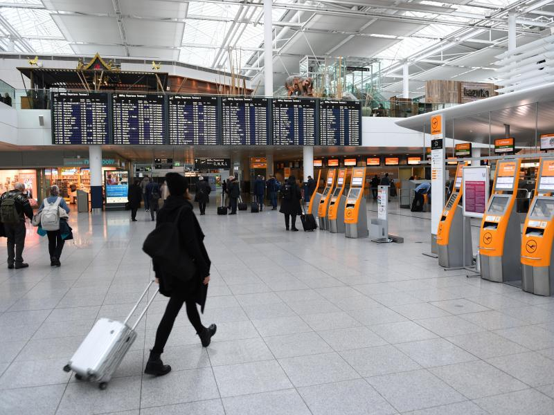 Bild zu Keime am Flughafen