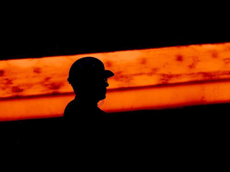 Bild zu Stahlarbeiter
