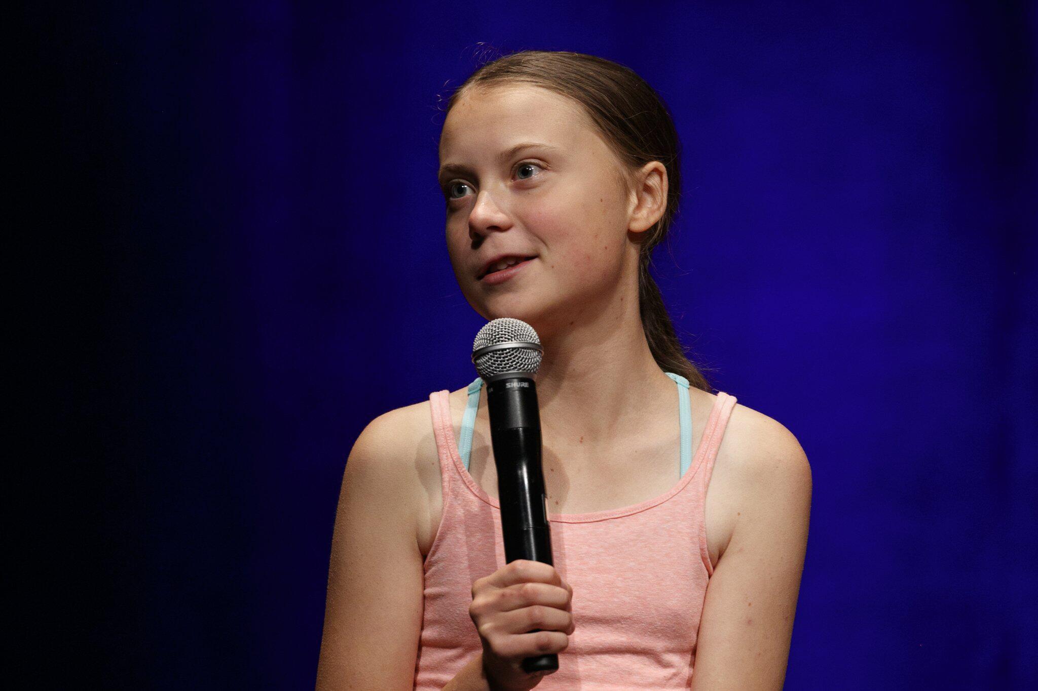 Bild zu Greta Thunberg mit Amnesty-Menschenrechtspreis ausgezeichnet