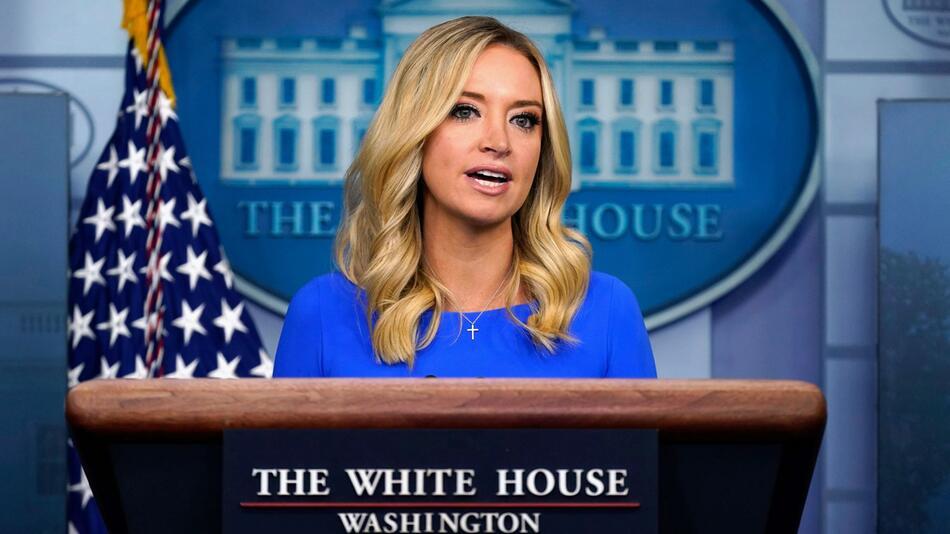 Weißes Haus - Pressesprecherin Kayleigh McEnany