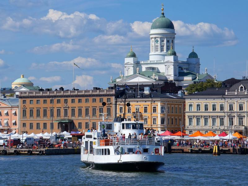 Bild zu Ansicht auf Helsinki