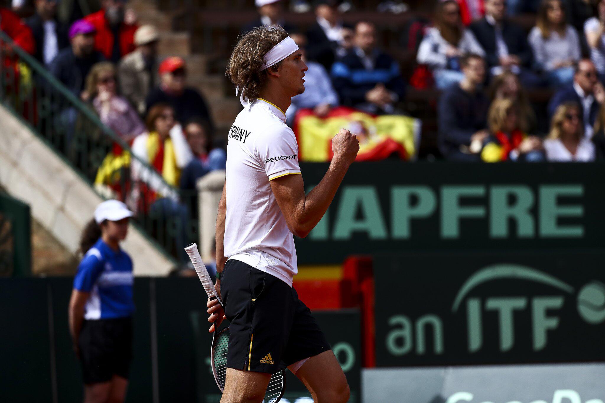 Bild zu Tennis: Davis Cup Spanien-Deutschland