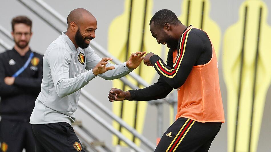 WM 2018 - Belgien Training